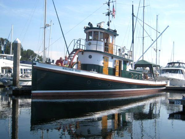 1897 Tacoma Tugboat Classic Tug Power Boat For Sale Www Yachtworld Com