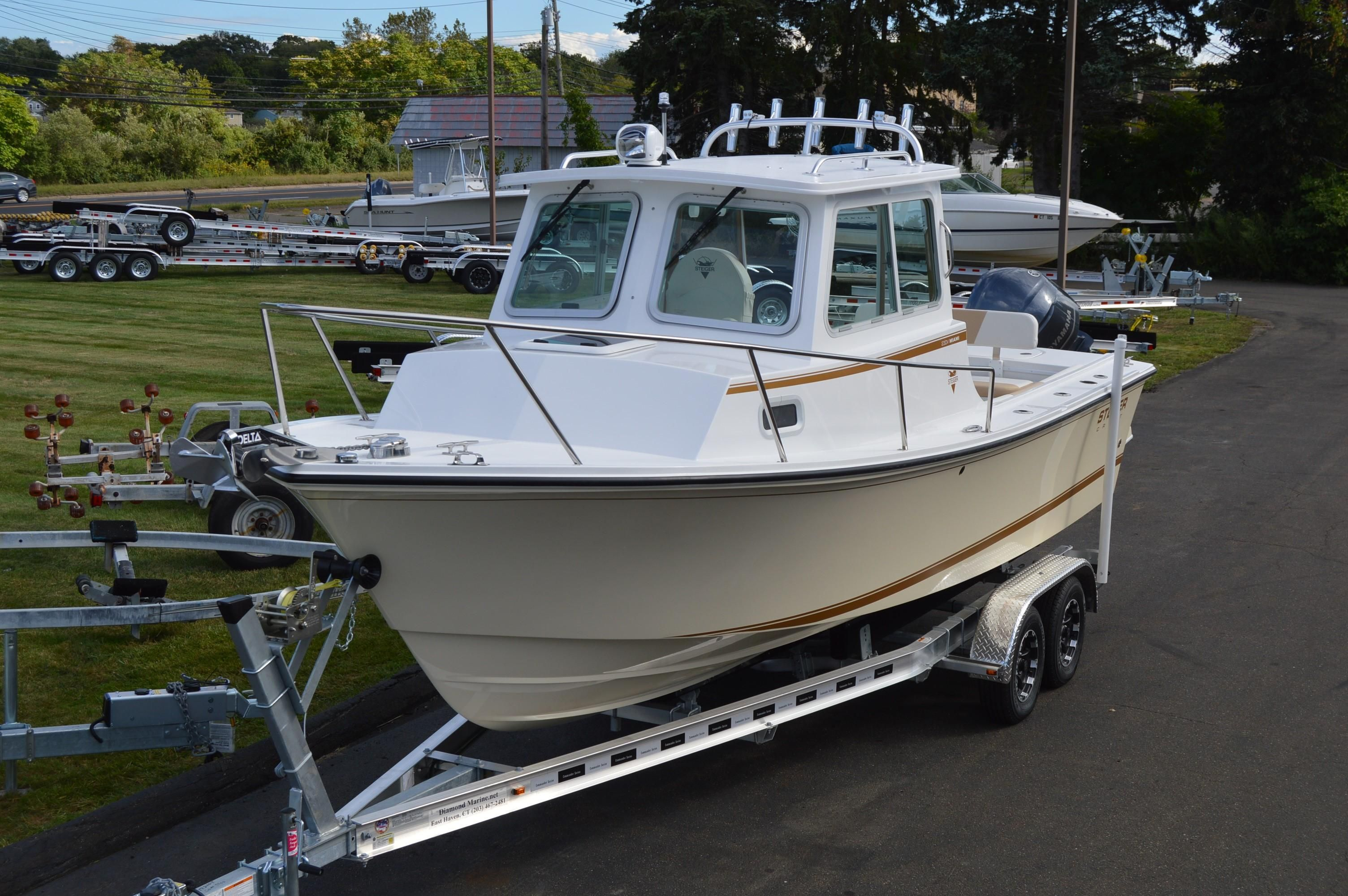 2018 steiger craft 23 miami s e power new and used boats for for Used steiger craft for sale