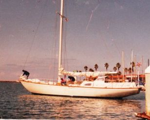 1972 Columbia Yacht sloop