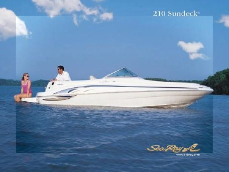 2002 Sea Ray 210 Sundeck