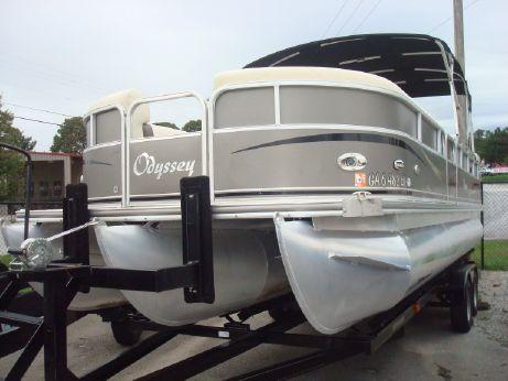 2006 Odyssey Pontoons 725C Tritoon