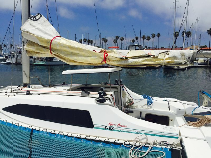 Corsair f28 Trimaran for sale