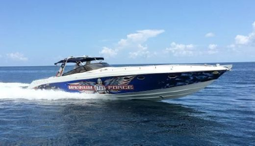 1990 Wellcraft 5000 Scarab Meteor Performance Express
