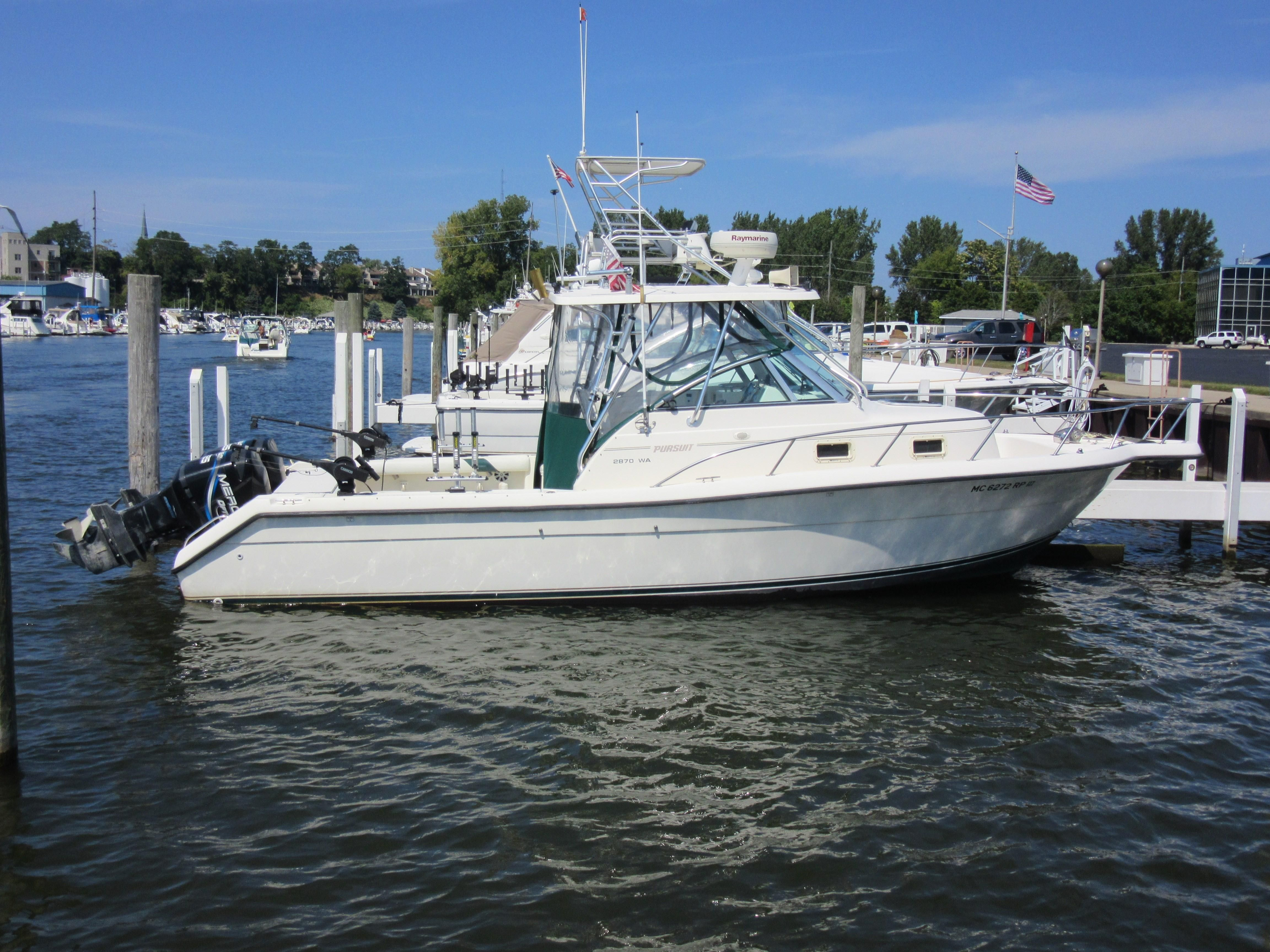 1998 pursuit 2870 walkaround power boat for sale www for St joseph michigan fishing report