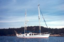 1967 George Sutton Custom Steel Motorsailor
