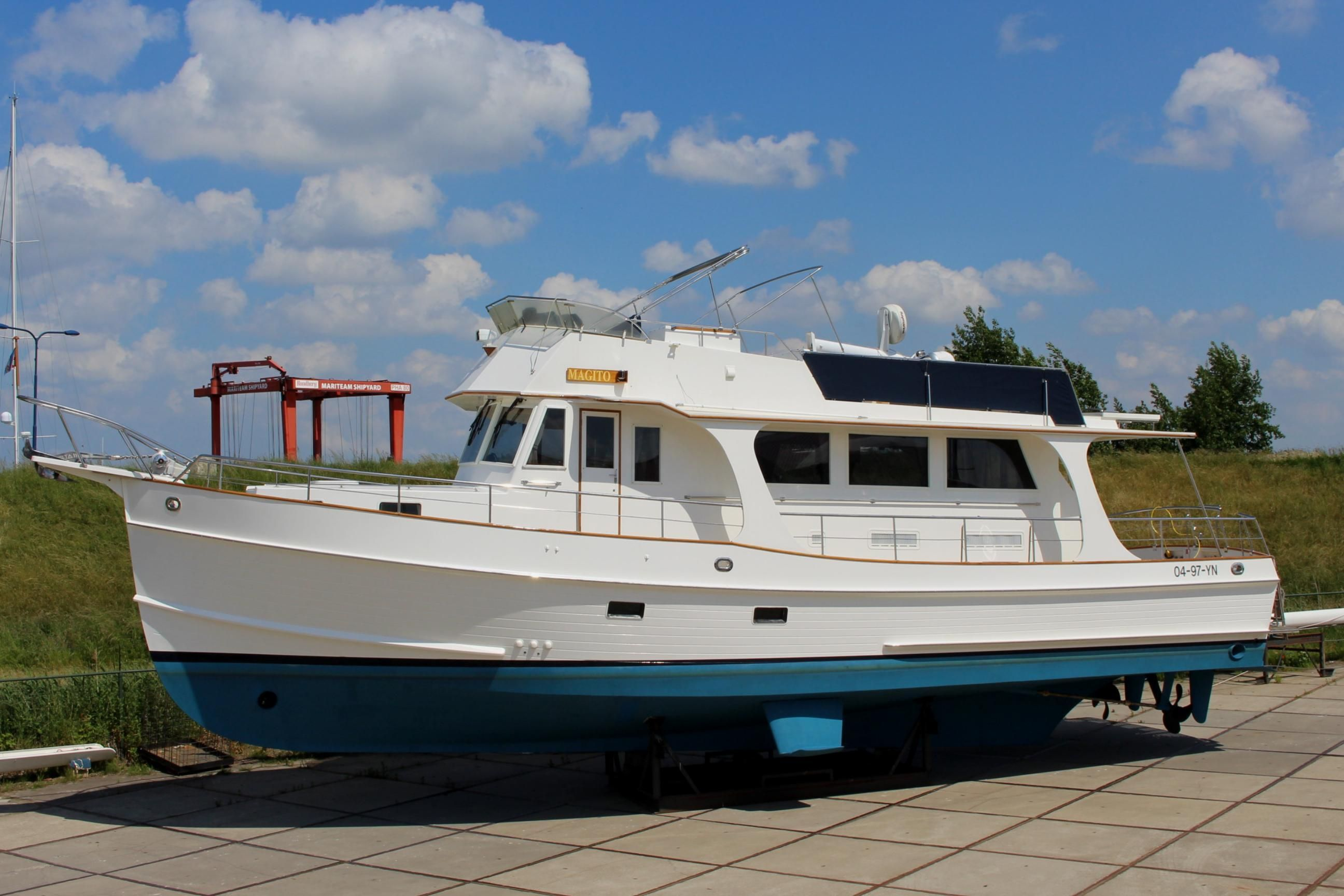 2005 Grand Banks 52 Heritage Eu Power Boat For Sale Www
