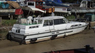 1988 Ideal 40 Ex Broads Cruiser