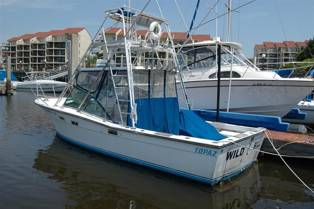 28 ft 1981 topaz 28 sportfish (repowered)