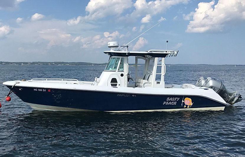 everglades  pilothouse power boat  sale wwwyachtworldcom