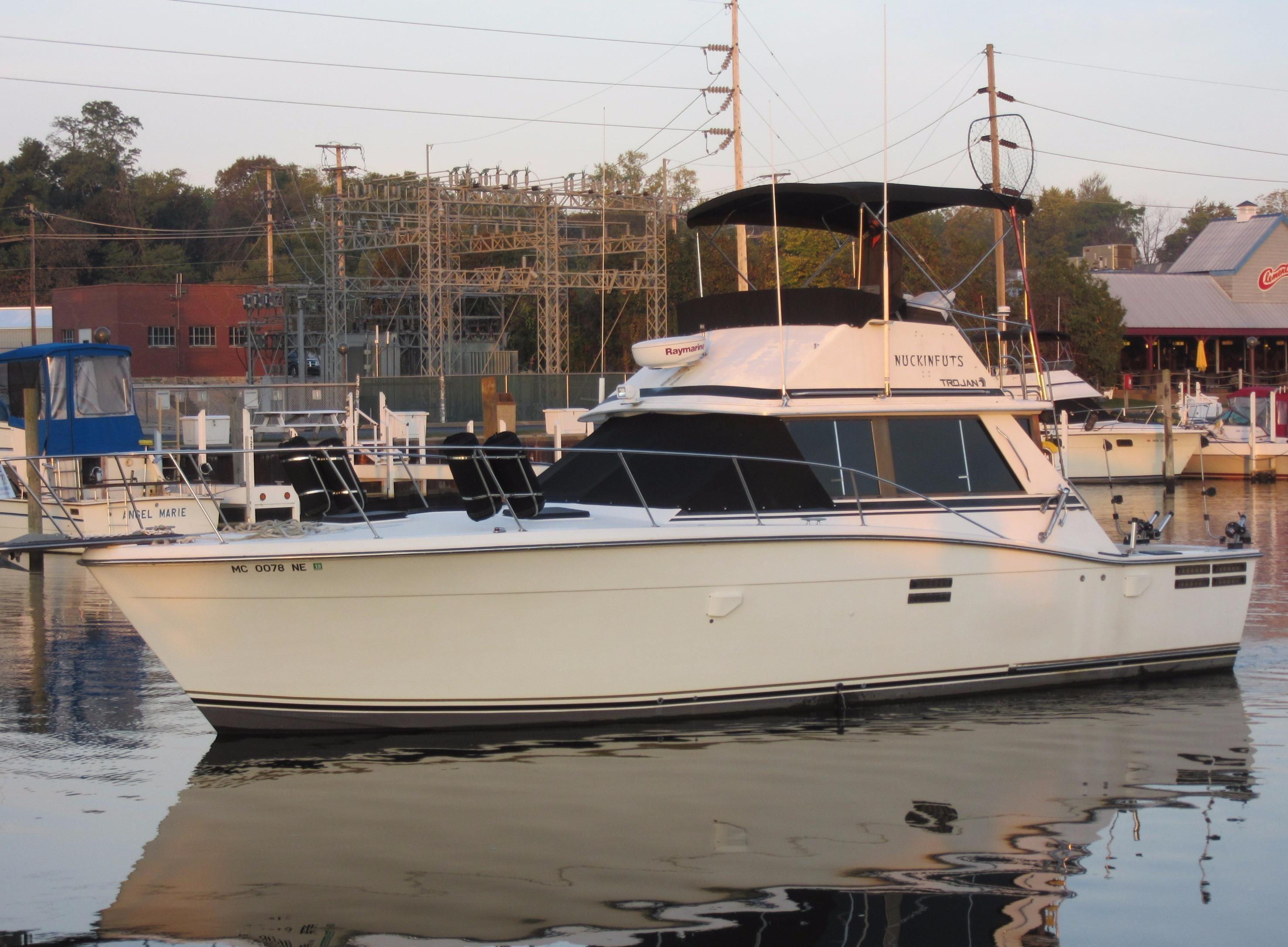 trojan f 36 convertible boats for yachtworld 1987 trojan f 36 convertible