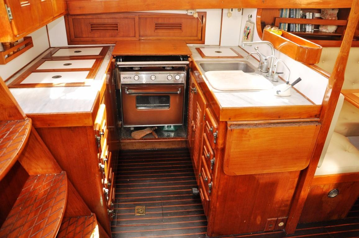 47' Perry Ketch+Aft Cabin lots of storage
