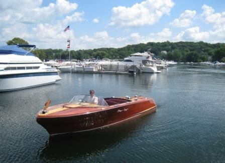 1956 Chris Craft 19 Capri