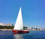 "2014 Custom Steel yacht ""Olga"""