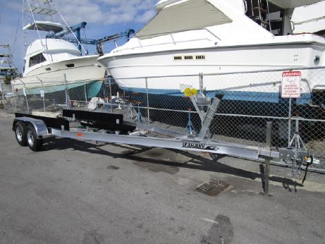 2018 Sea Hawk 21-23 Tandem Trailer