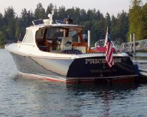 1995 Hinckley 36' Picnic Boat