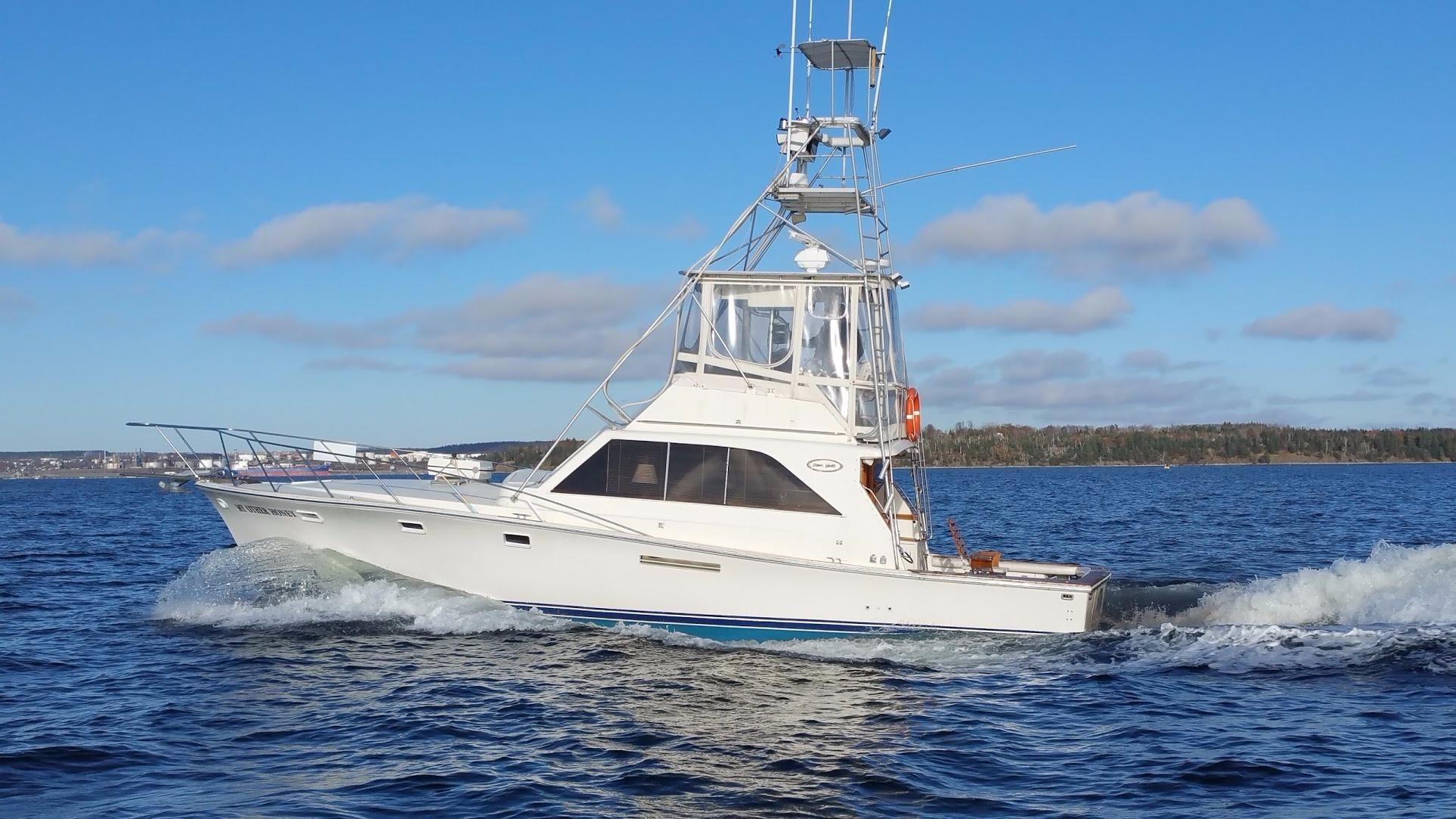NEW 36' FISHING BOATS FOR SALE