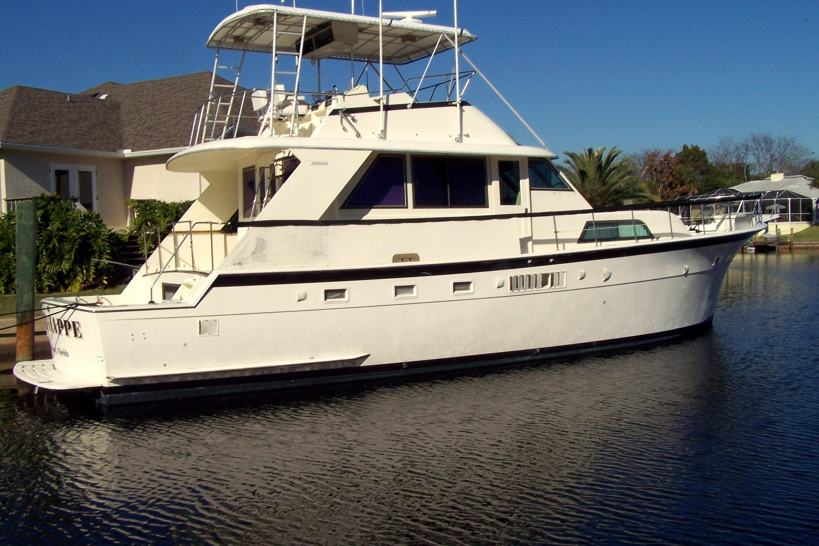 1978 Hatteras 53 Yacht Fisherman Power Boat For Sale Www