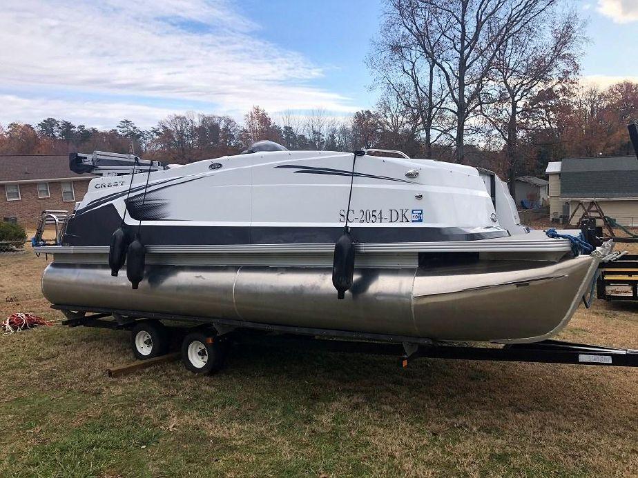 2018 Crest 19 Calypso Pontoon Boat For Sale Yachtworld
