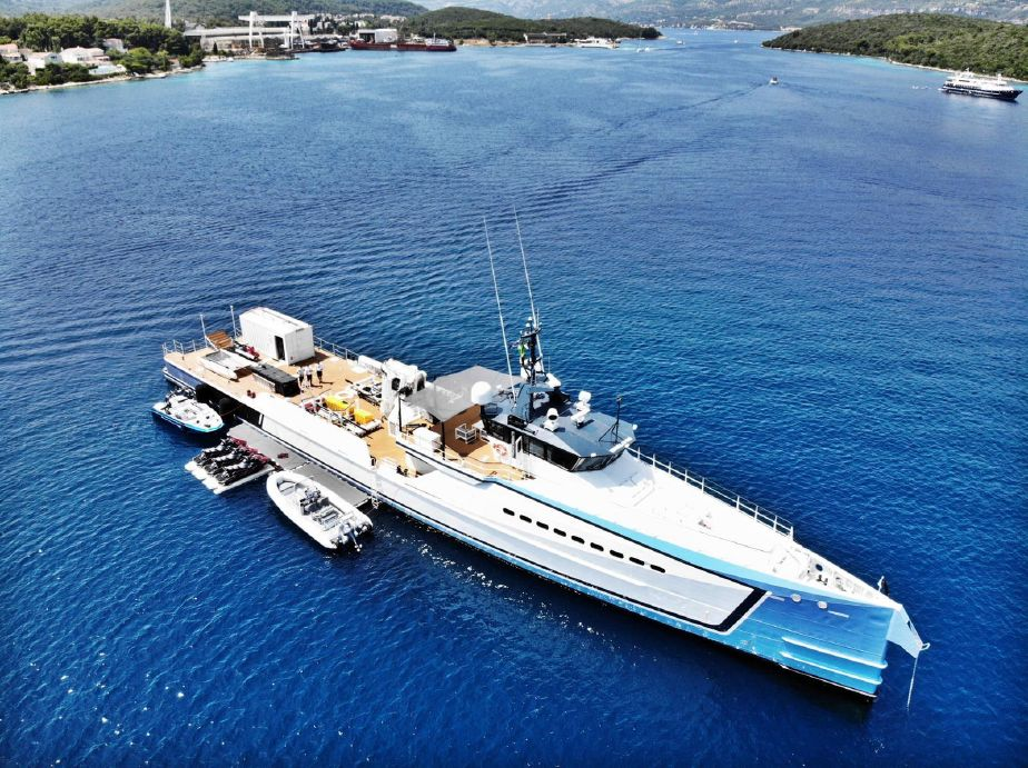 2017 Damen Mega Yacht Power Boat For Sale - www yachtworld com