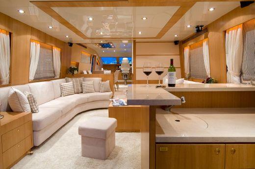 2007 Horizon Yacht Elegance 73 New Line