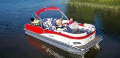 2015 Avalon Pontoons 25 Windjammer Rear Fish