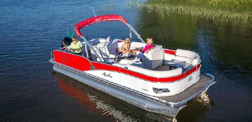 2016 Avalon Pontoons 25 Windjammer Rear Fish