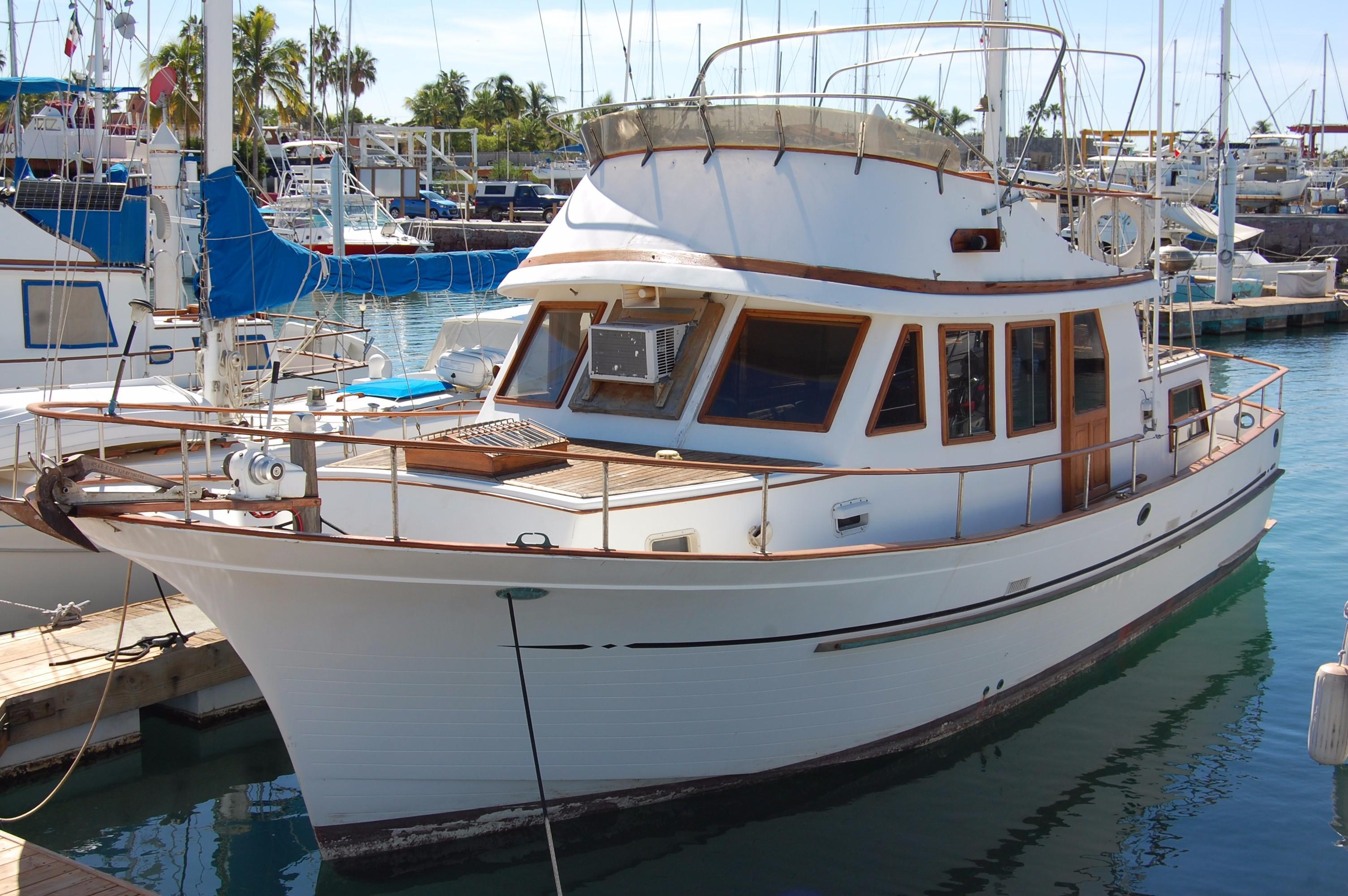 40' Hershine Trawler+Boat for sale!
