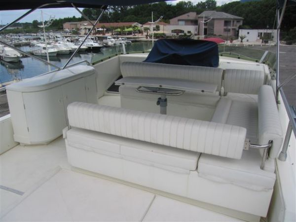 Guy Couach 185 Fly Type Motor. Fast Motor yacht with Fly Bridge for cruising ...