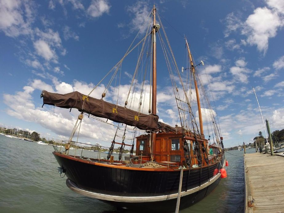 1925 Traditional Danish Gaff Ketch Sail Boat For Sale Www
