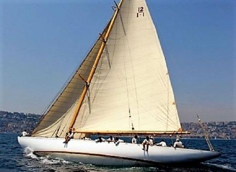 1929 Baglietto 12 metre class