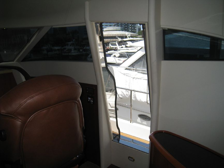 Fairline 62 Squadron Yacht Side Door