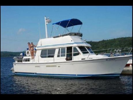 1990 Sabreline 36 Fast Trawler