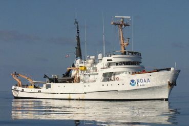 1966 Custom NOAA Research Ship