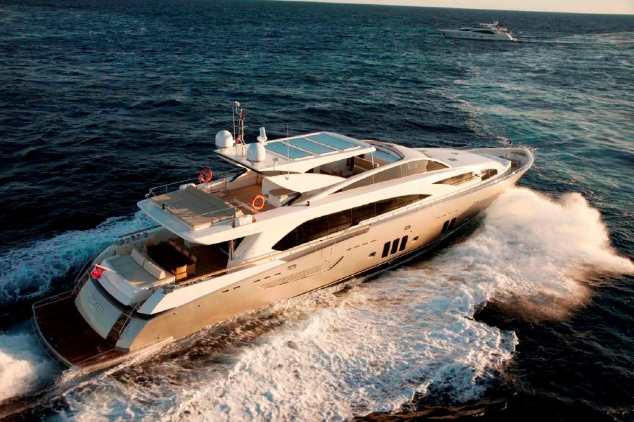 2010 Guy Couach 3700 Fly Power Boat For Sale - www yachtworld com