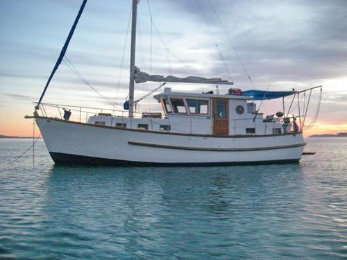 40' C & L Comfort 38 Motorsailor+Boat for sale!