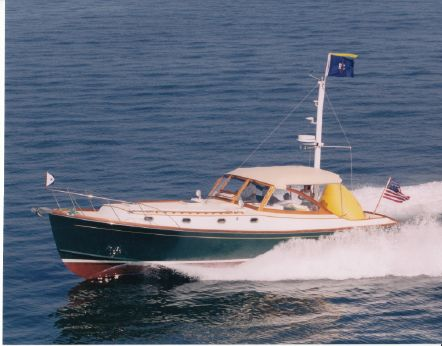 1997 Able 44 Downeast Express Cruiser