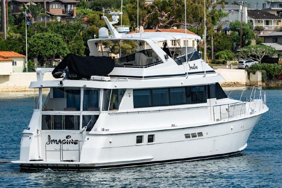Hatteras 70 Sport Deck Yacht for sale