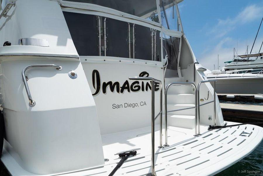 Hatteras 70 Motor Yacht Swim Platform