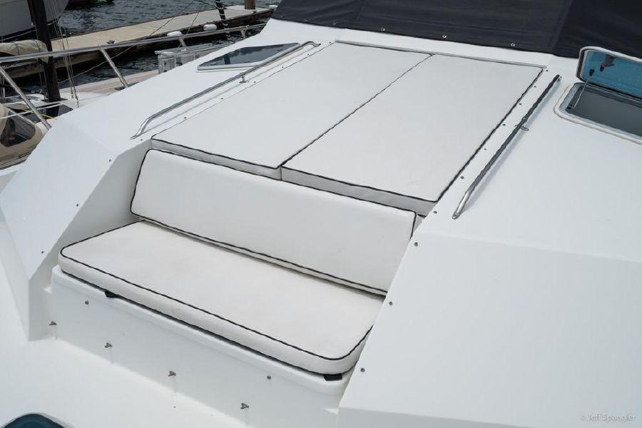 Hatteras 70 Motor Yacht Bow Cushion