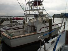 1986 Topaz 29 Sportfish Yanmar Repowered