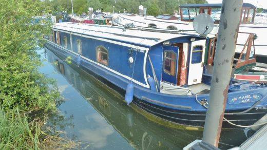 1999 M J Stains 58x8'06'' Widebeam Narrowboat
