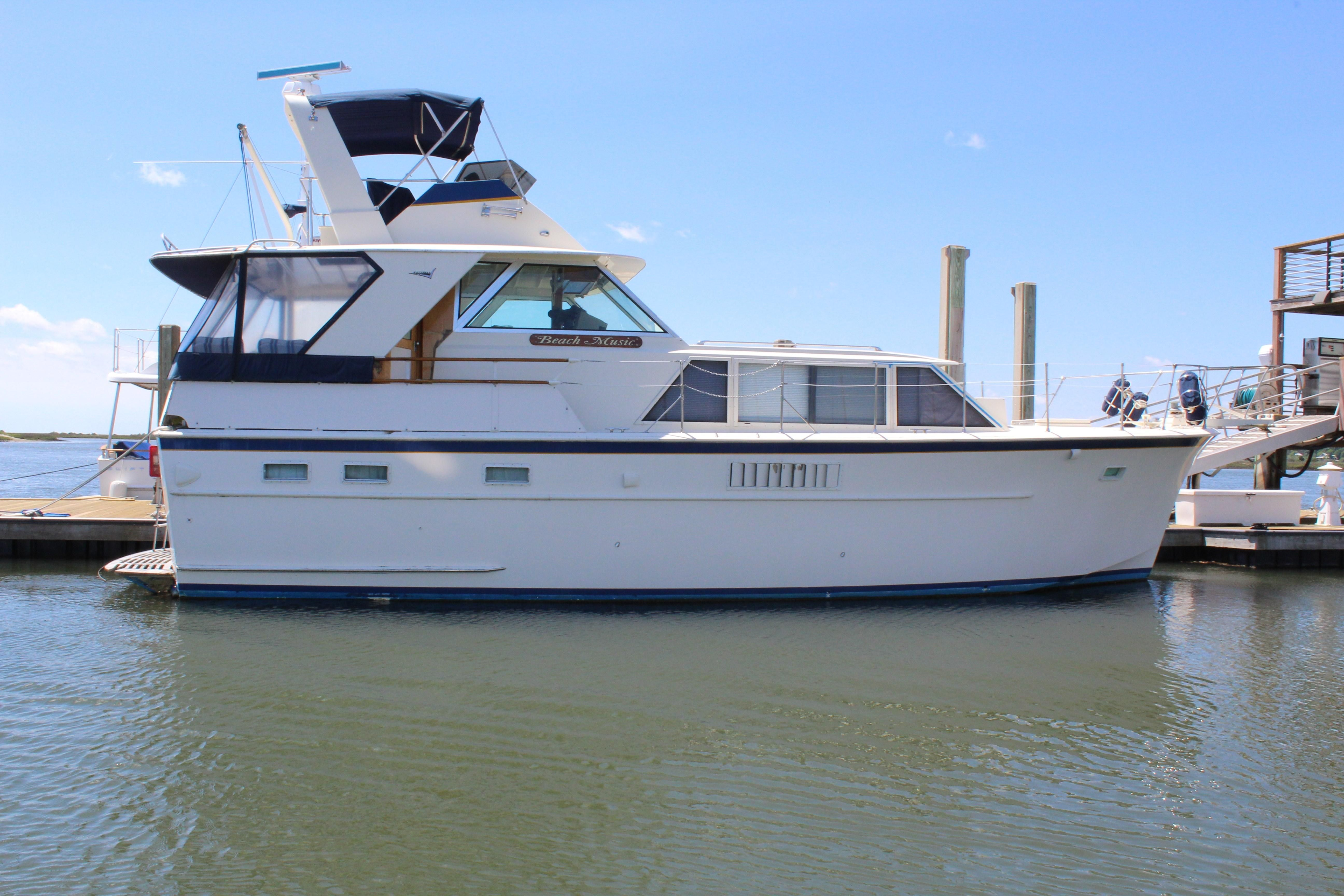 1970 hatteras 44 tri cabin motor yacht power boat for sale for Hatteras motor yacht for sale