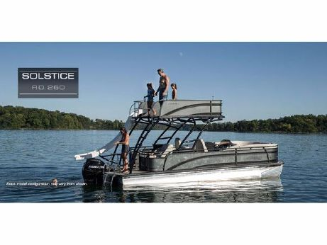 2016 Harris Flotebote Solstice 260 Recreation Deck