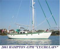2001 Hampton 43 Pilot House Cutter