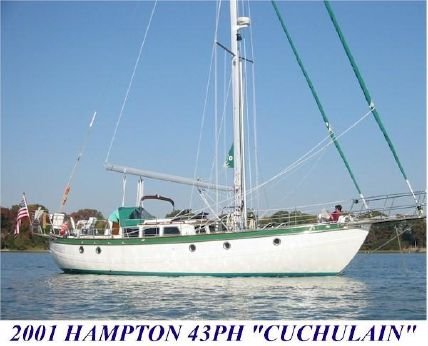 2001 Hampton 43 Pilot House Cutter