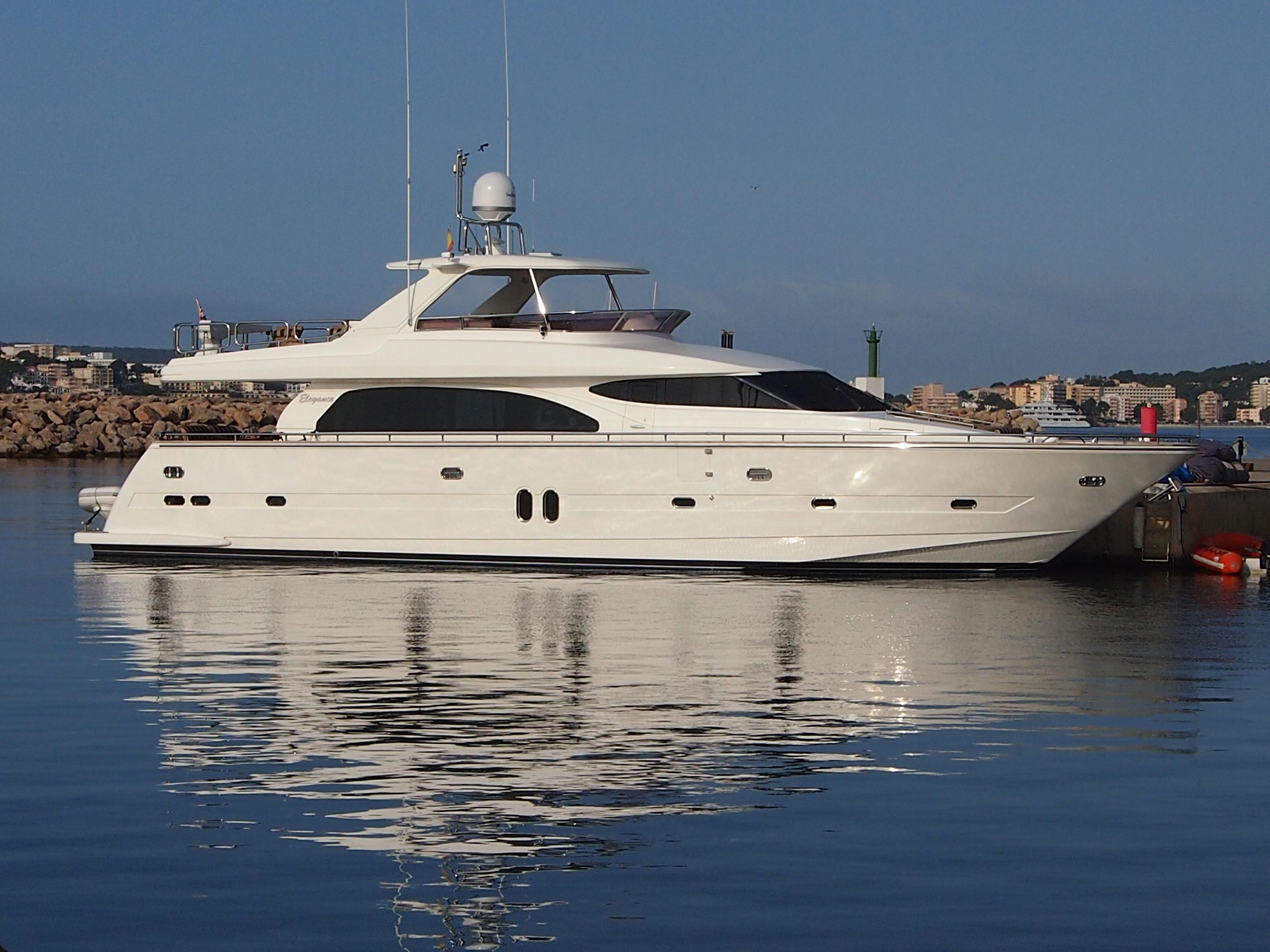 2005 horizon elegance 76 new line power new and used boats for for Klakring motor co annapolis