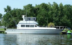2001 Custom Steel Convertable/Cruiser Motor Yacht