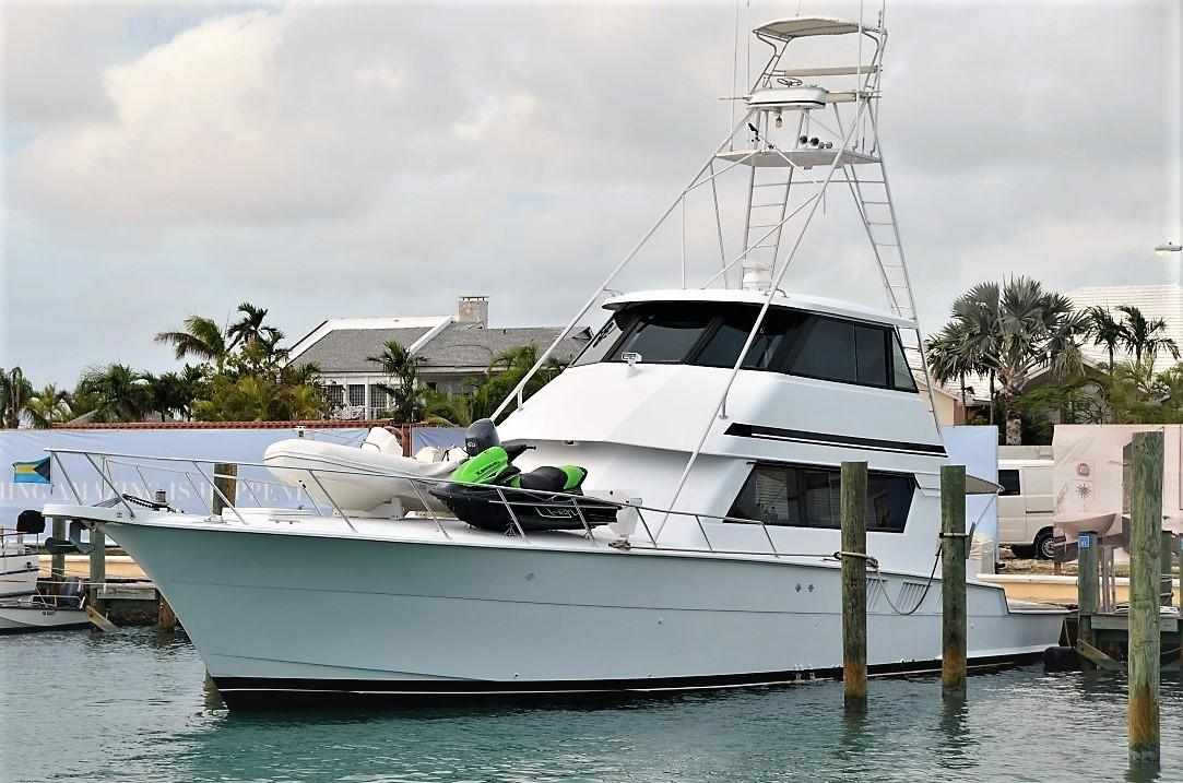 1988 Hatteras 65 Convertible Power Boat For Sale - www.yachtworld.com
