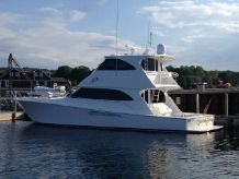 2013 Viking 60 Enclosed Bridge