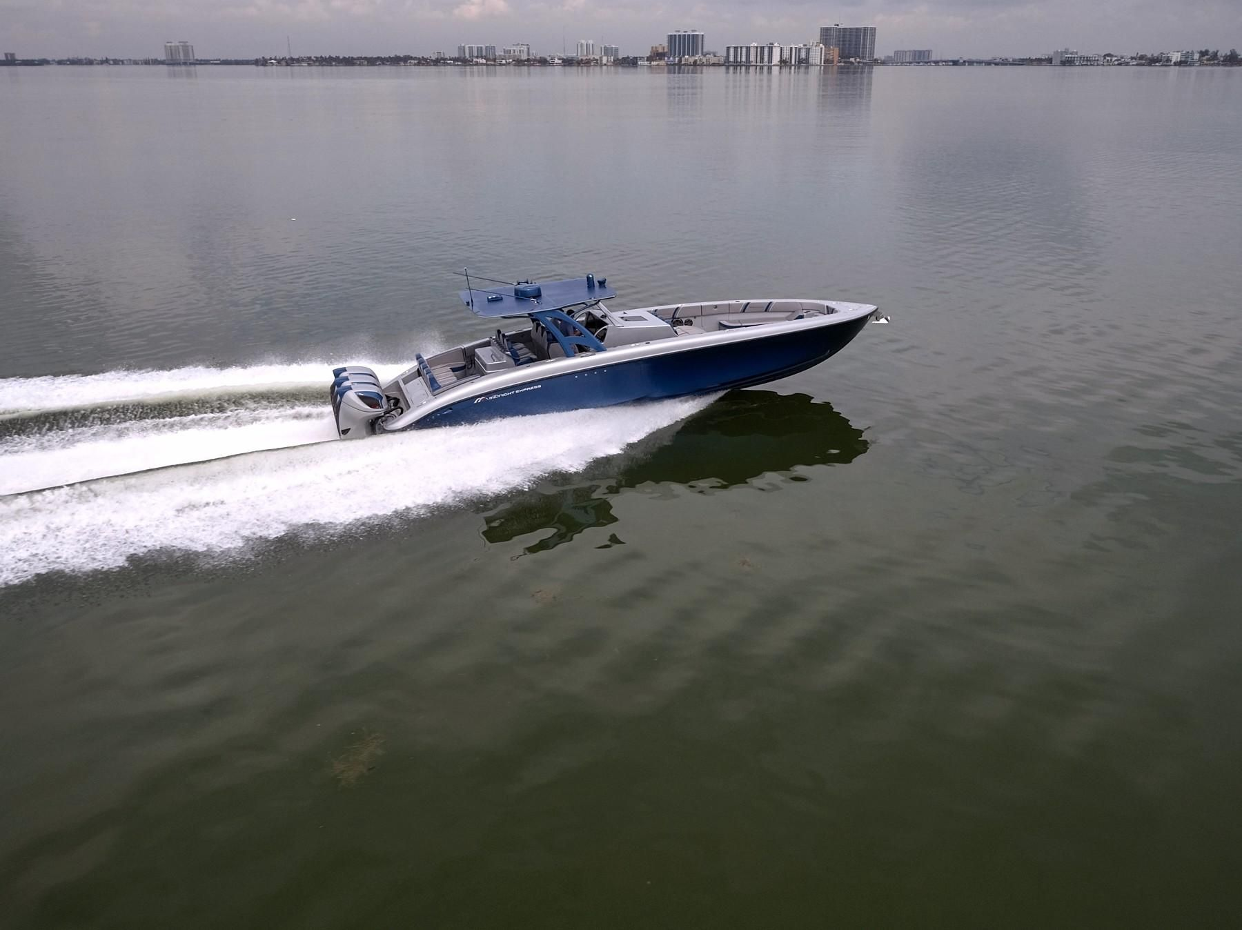 2017 Midnight Express 43 Open Power Boat For Sale Www Yachtworld Com